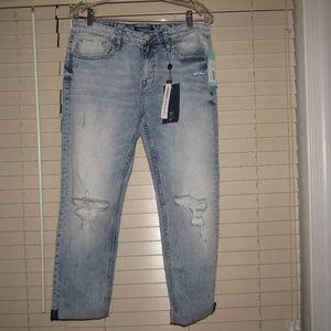 NWT Stitch Fix Vigoss Stretch Distressed Jeans 32